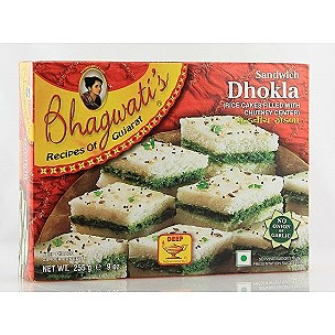 Bhagwati Sandwich Dhokla 9oz - Indian Bazaar Inc
