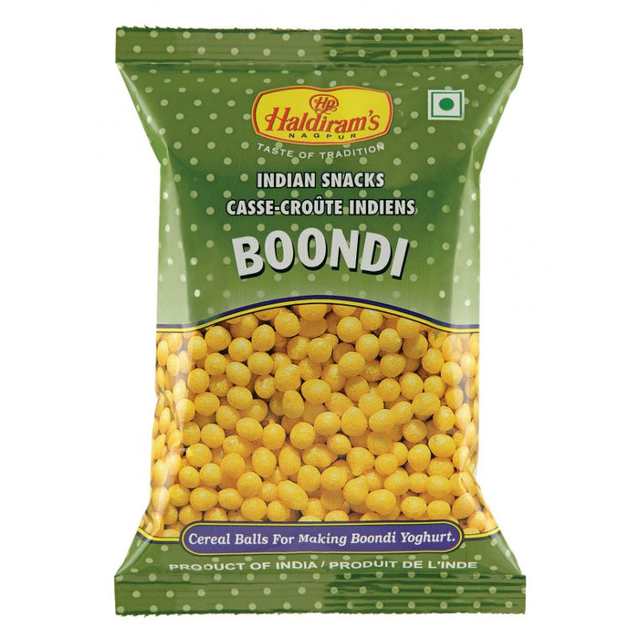 Haldiram's Boondi 150 g - Indian Bazaar Inc