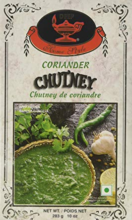 Deep Coriander Chutney 10oz - Indian Bazaar Inc