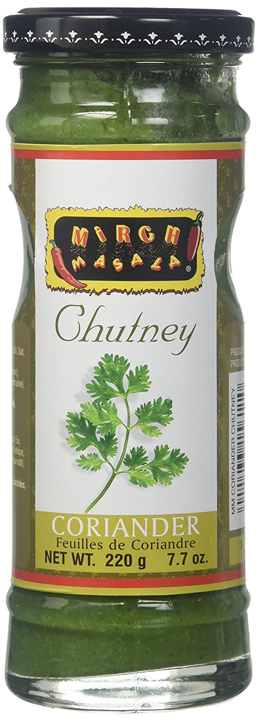 Mirch Masala Coriander Chutney 7.7Oz - Indian Bazaar - Online Indian Grocery Store