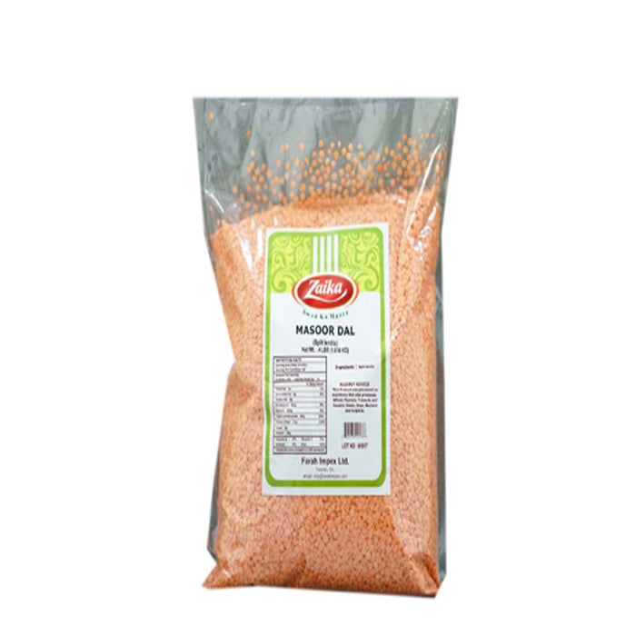 Zaika Masoor Dal 4lb - Indian Bazaar - Online Indian Grocery Store