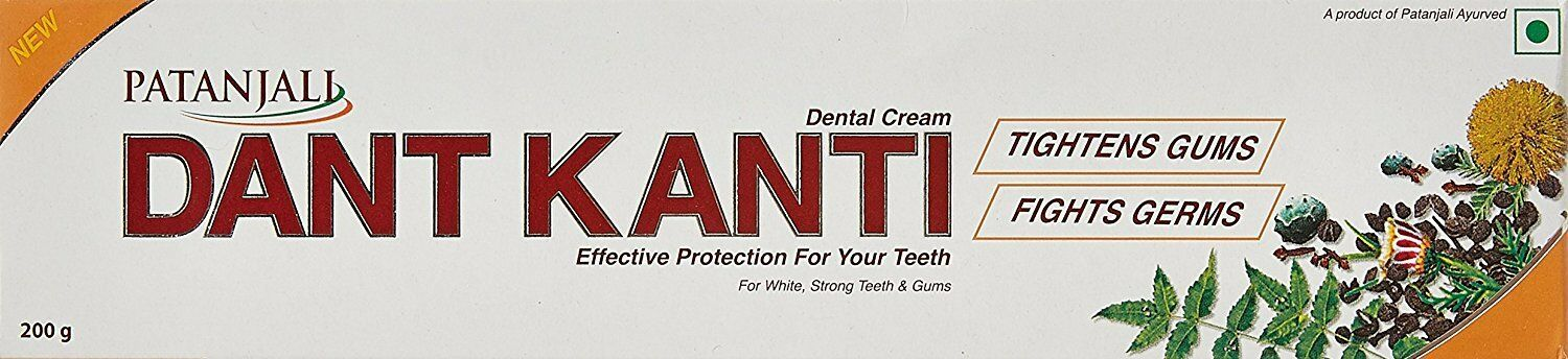 PJ Dant Kanti Dental Cream 200g - Indian Bazaar - Online Indian Grocery Store