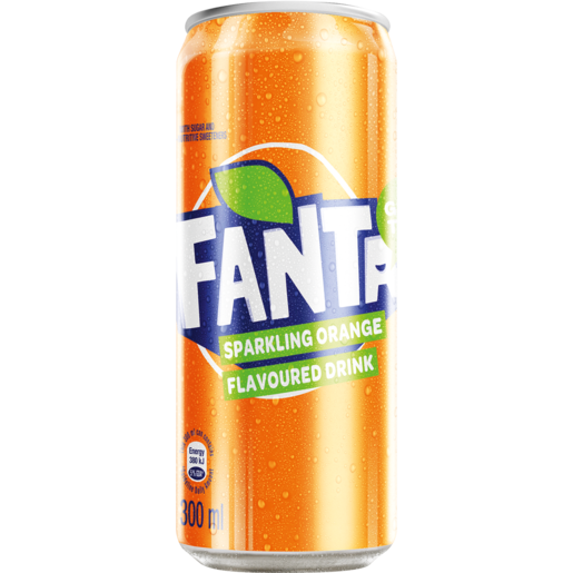 Fanta Can 300ml - Indian Bazaar - Online Indian Grocery Store