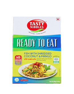 Flaked Light Tuna with Shredded Coconut & Mango 200 g - Indian Bazaar Inc