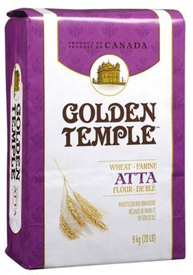 Golden Temple Wheat Atta Flour Blend  20 lb - Indian Bazaar - Online Indian Grocery Store