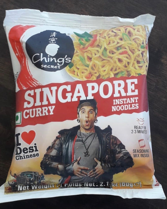 Ching's Singapore Curry Noodles 60g - Indian Bazaar - Online Indian Grocery Store