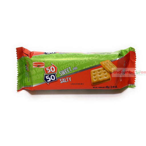 BR Fifty Fifty Sweet & Salty crackers 62 g - Indian Bazaar - Online Indian Grocery Store