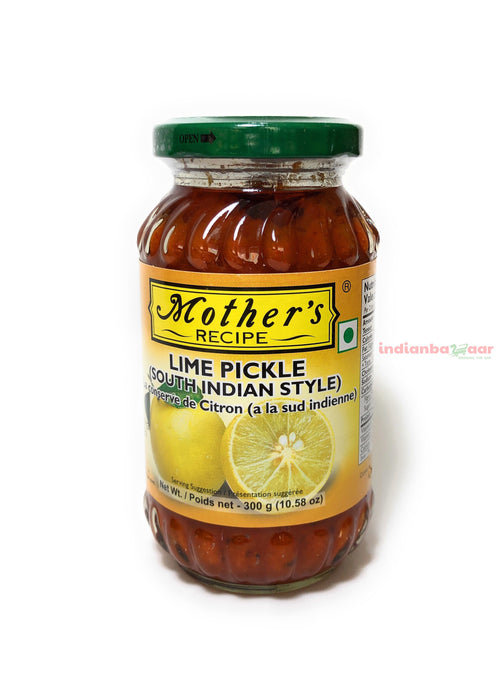 Mother's Lime Pickle 300 g - Indian Bazaar Inc
