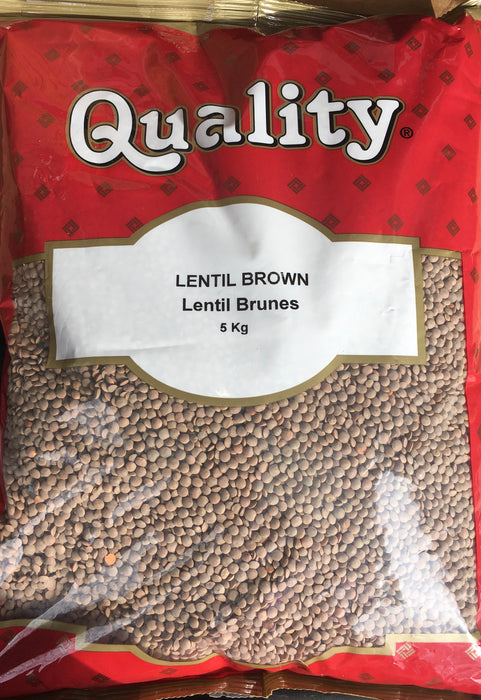 Quality Masoor Dal Brown 5Kg - Indian Bazaar - Online Indian Grocery Store
