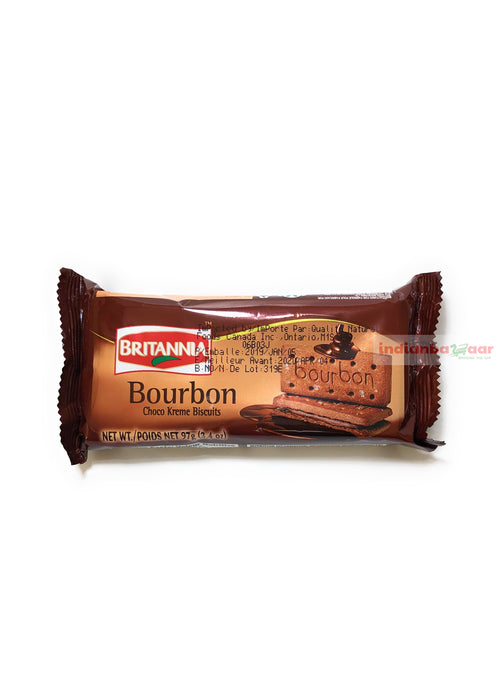 BR Bourbon Cream Treat Biscuits 97 g - Indian Bazaar - Online Indian Grocery Store