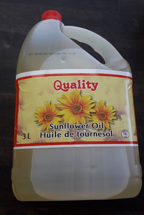 Quality sunflower Oil 3Ltr - Indian Bazaar - Online Indian Grocery Store