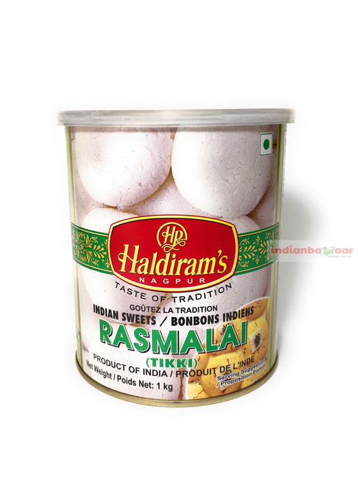 Haldiram's Rasmalai 1 kg - Indian Bazaar - Online Indian Grocery Store