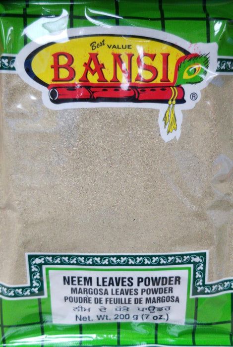 Bansi Neem Leaves Powder 200g - Indian Bazaar - Online Indian Grocery Store