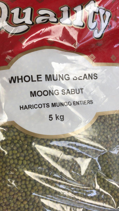 Quality Moong Dal Whole 5Kg - Indian Bazaar - Online Indian Grocery Store