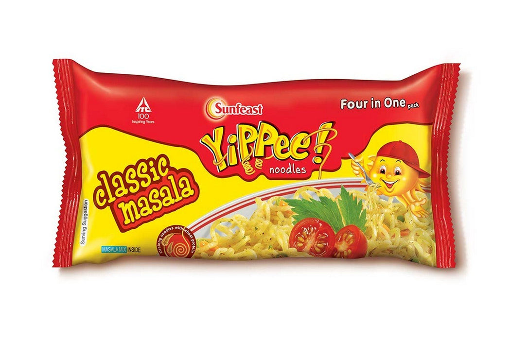 Yippee Classic Masala Noodles 280g - Indian Bazaar - Online Indian Grocery Store