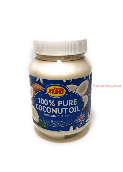 Coconut Oil (100% Pure) 500 g - Indian Bazaar - Online Indian Grocery Store