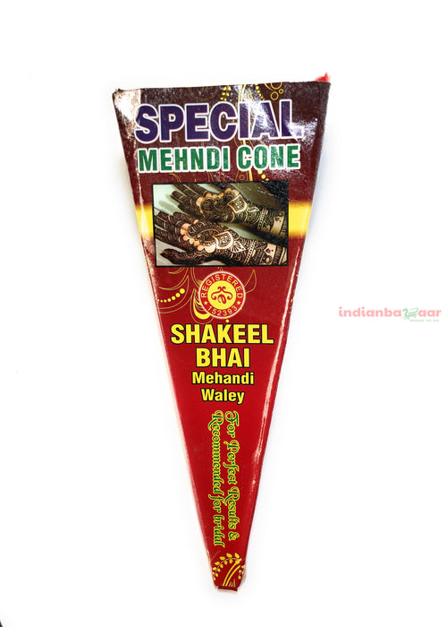 Henna Mehndi Cone per Piece - Indian Bazaar - Online Indian Grocery Store