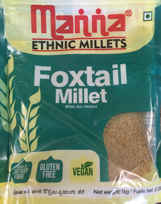Foxtail Millet 1 kg - Indian Bazaar - Online Indian Grocery Store