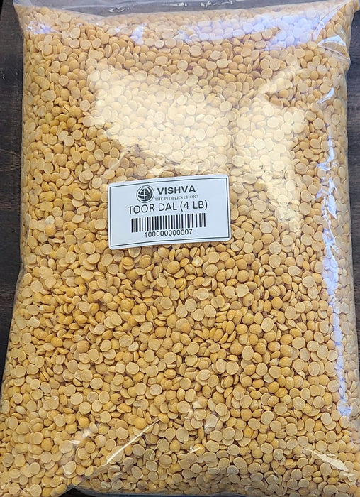 Vishva Toor Dal 4Lb - Indian Bazaar - Online Indian Grocery Store