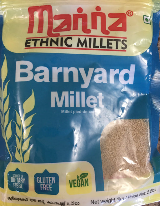 Barnyard Millet 1 kg - Indian Bazaar - Online Indian Grocery Store