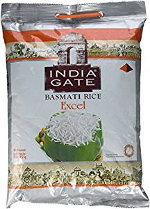 Basmati Rice 10 lb (India Gate Excel) - Indian Bazaar - Online Indian Grocery Store