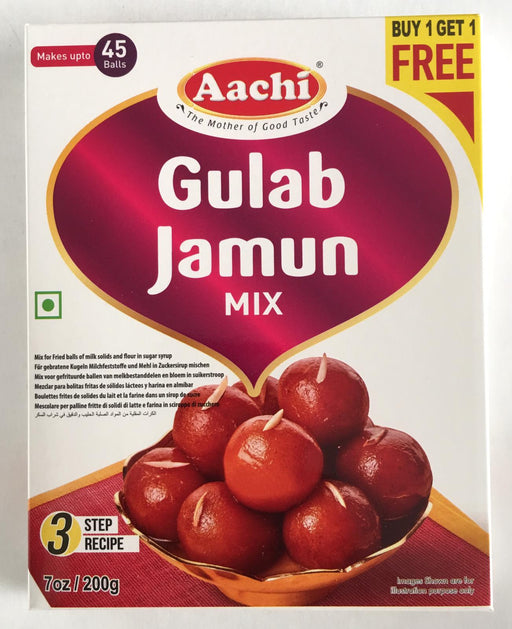 Aachi Gulab Jamun Mix B1G1 200g - Indian Bazaar - Online Indian Grocery Store