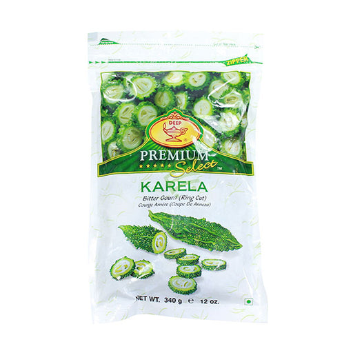 Deep Karela Ringcut 12oz - Indian Bazaar - Online Indian Grocery Store