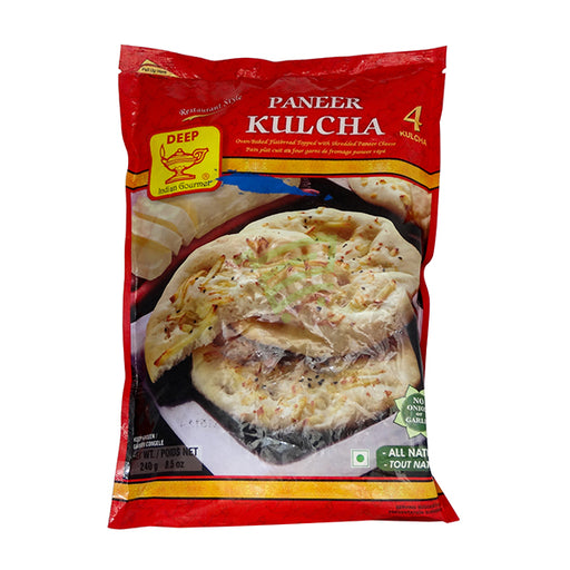 Deep Paneer Kulcha 4pc - Indian Bazaar - Online Indian Grocery Store