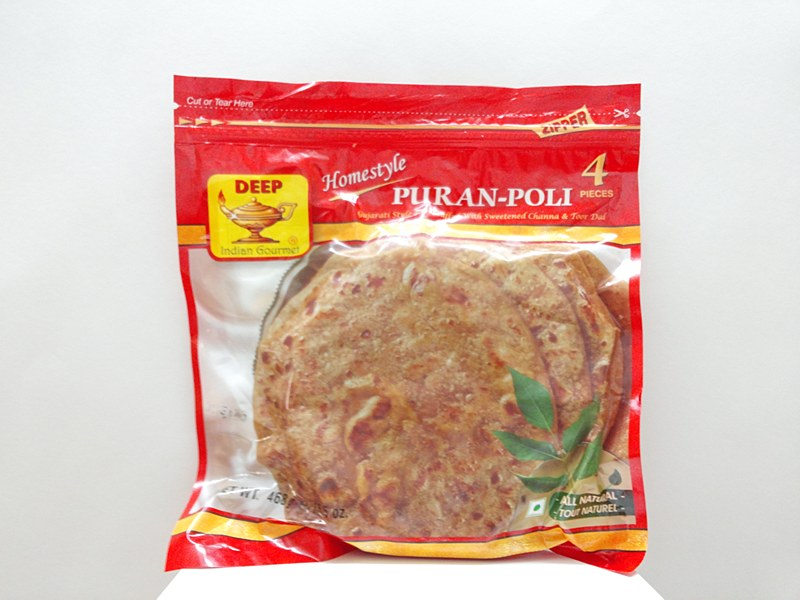 Deep Puran Poli 4pc - Indian Bazaar - Online Indian Grocery Store