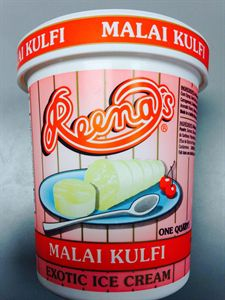 Reena's Malai Kulfi 1Qt/946ml - Indian Bazaar - Online Indian Grocery Store