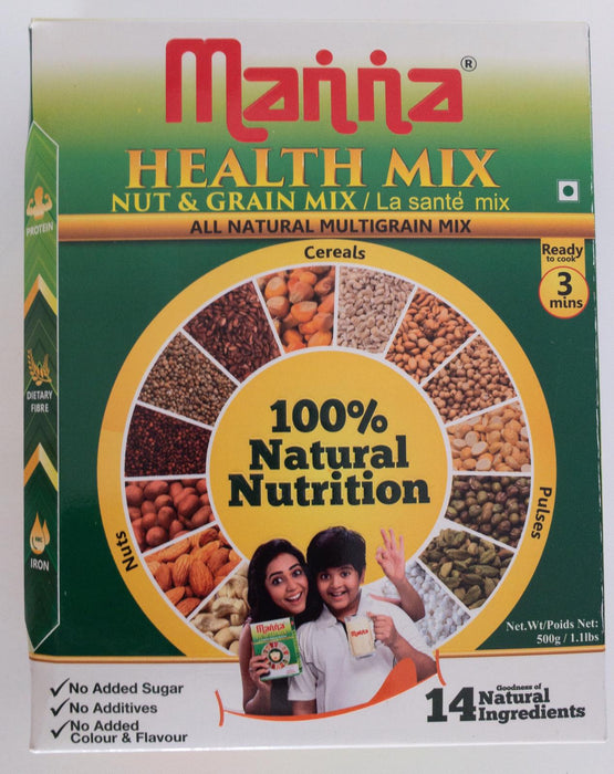 Manna Health Mix 500g - Indian Bazaar - Online Indian Grocery Store