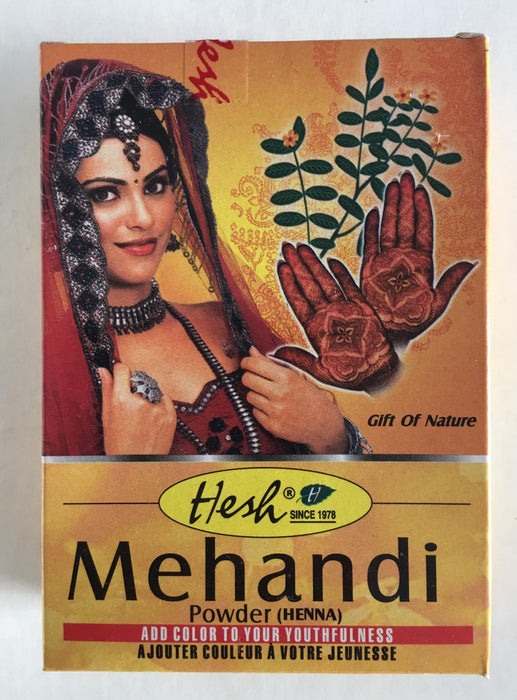 Hesh Mehandi Powder 100g - Indian Bazaar - Online Indian Grocery Store