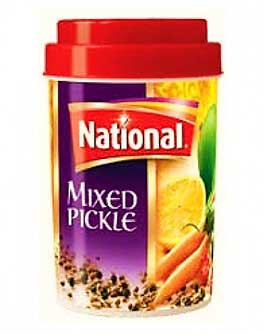 National Mixed Pickle 1 kg - Indian Bazaar - Online Indian Grocery Store