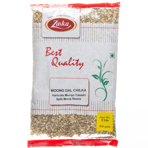 Zaika Moong Dal Chilka 2lb - Indian Bazaar - Online Indian Grocery Store