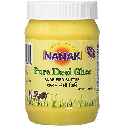 Nanak Desi Ghee (Medium) 400g - Indian Bazaar - Online Indian Grocery Store