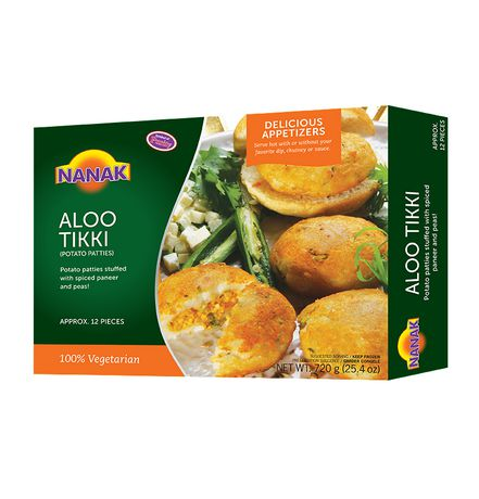 NK Aloo Tikki 720g - Indian Bazaar Inc