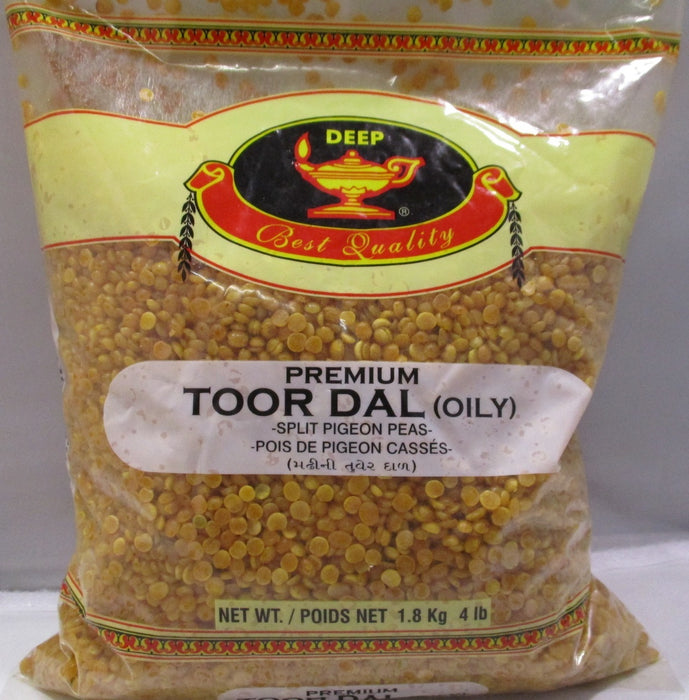 Deep Toor Dal Oily 4Lb - Indian Bazaar - Online Indian Grocery Store