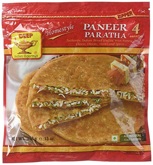 Deep Paneer Paratha 4pc - Indian Bazaar - Online Indian Grocery Store