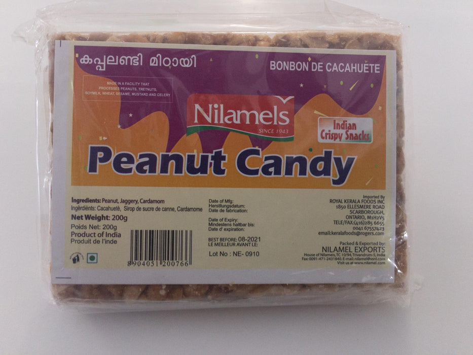 Nilamel's Peanut Candy 200g - Indian Bazaar - Online Indian Grocery Store