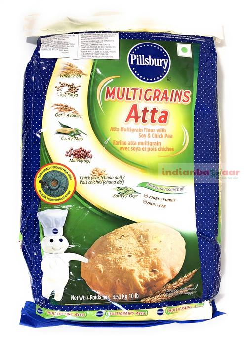 Pillsburry Multigrain Atta 10lb - Indian Bazaar - Online Indian Grocery Store