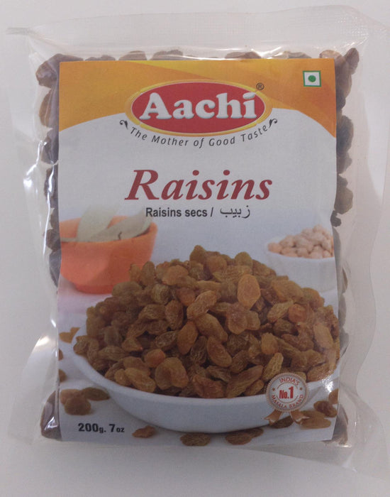 Aachi Raisins 200g - Indian Bazaar Inc