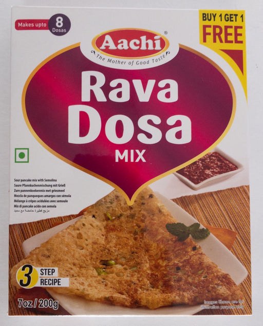 Aachi Rava Dosa Mix 200g B1G1 - Indian Bazaar - Online Indian Grocery Store
