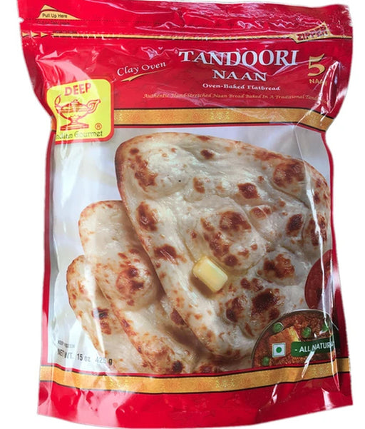 Deep Tandoori Naan 5pc - Indian Bazaar - Online Indian Grocery Store