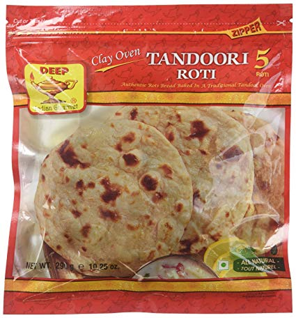 Deep Tandoori Roti 5pc - Indian Bazaar Inc