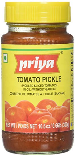 Priya Tomato Pickle WO Garlic 300g offer - Indian Bazaar - Online Indian Grocery Store
