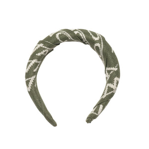 Padded Patterned Hairband