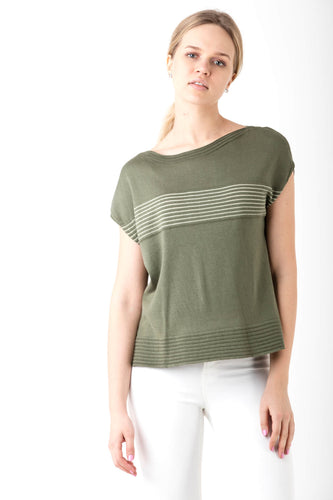 Cotton lightweight tee for summer by Waring Brooke