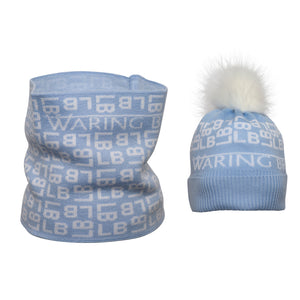 Personalised Hat and Snood Set
