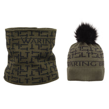 Load image into Gallery viewer, Personalised Hat and Snood Set