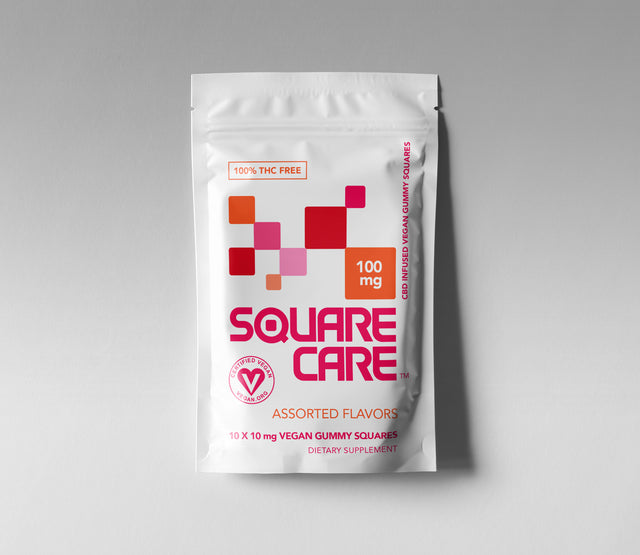 100mg Square Care Assorted Flavors (CASE)